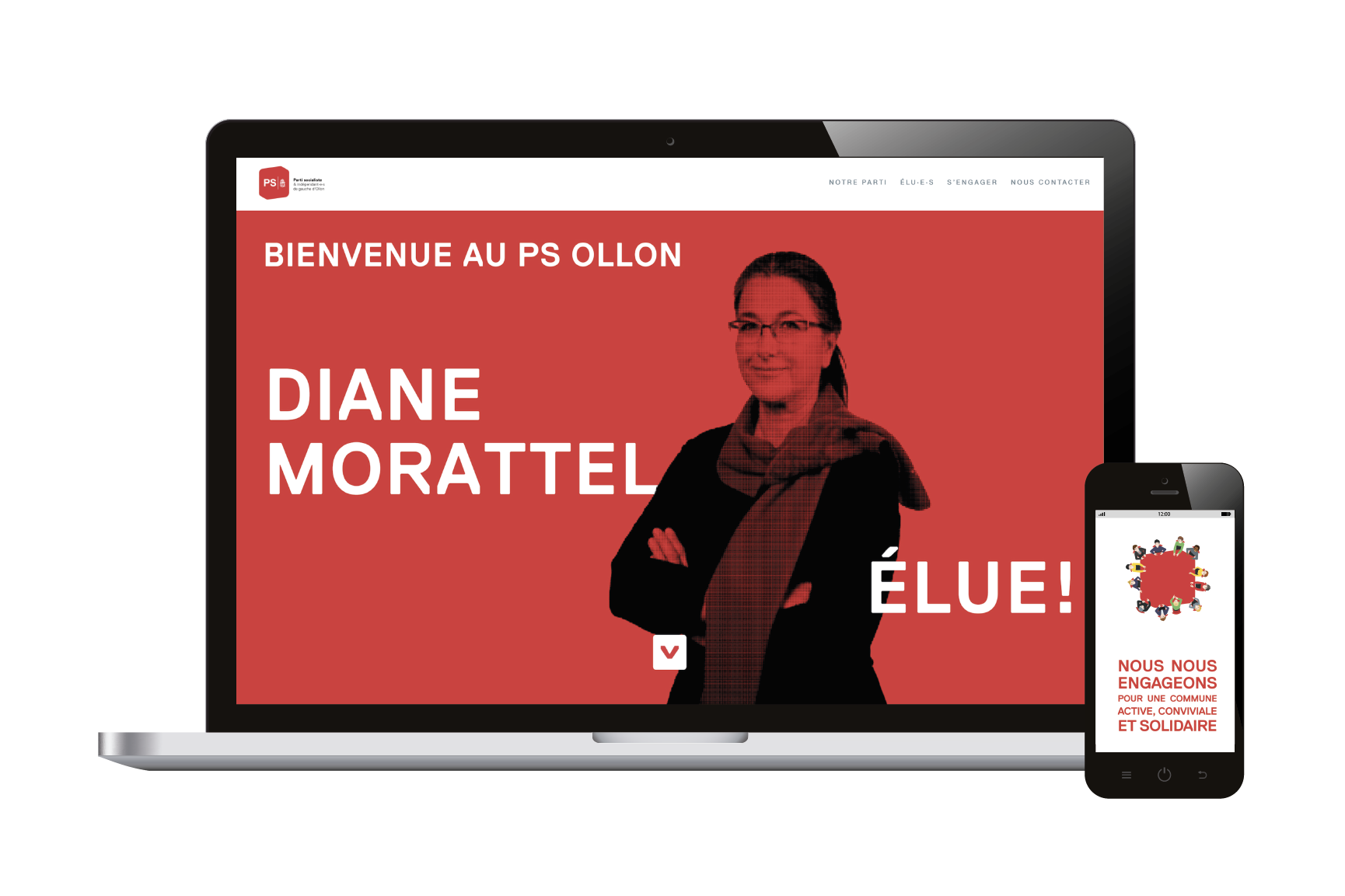 Campagne 'Communales 2021' PS Ollon